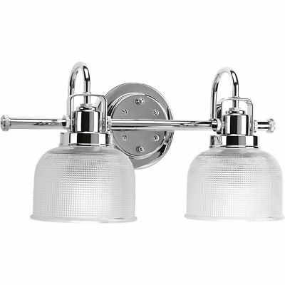 progress lighting archie - baño y tocador de cromo pulido c