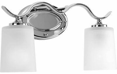 progress lighting inspire - baño y tocador de cromo pulido