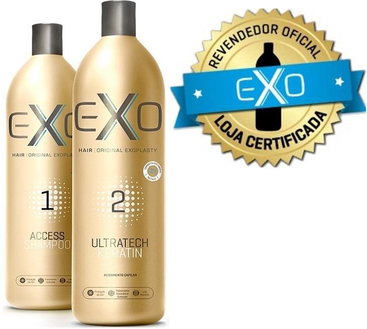 149887804 Progressiva Exoplastia Capilar Exo Hair 2x500ml + Brinde! - R$ 259 ...