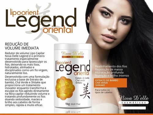 progressiva hair biologica 1l + botox lipo legend nova delle