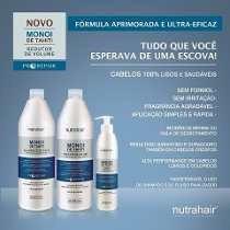 progressiva monoi de tahiti nutra hair liso 100% (3 ítens)
