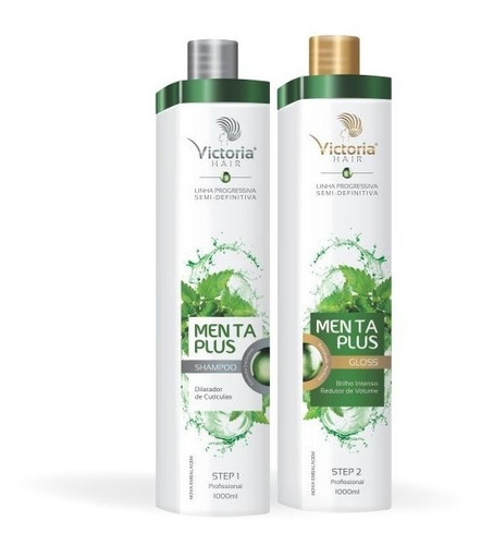 progressiva semi definitiva menta pluss victoria hair