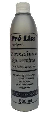 progressiva turmalina e queratina pro liss 500ml -só o ativo