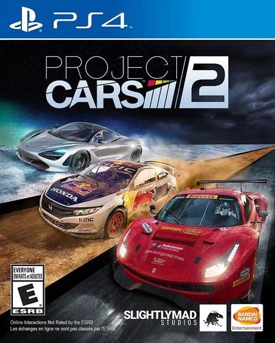 project cars 2 ps4 fisico original sellado envio gratis