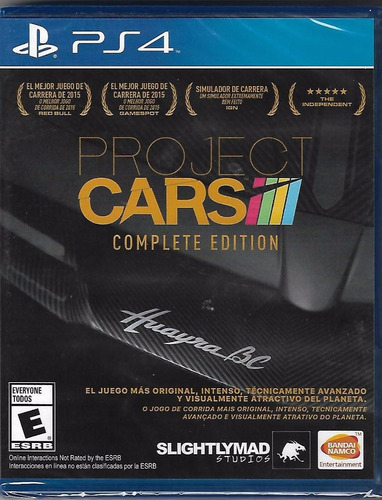 project cars complete edition ps4