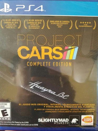 project cars complete edition ps4 español delivery stock ya