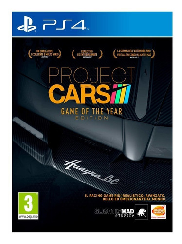 project cars complete edition ps4 juego fisico sellado cd