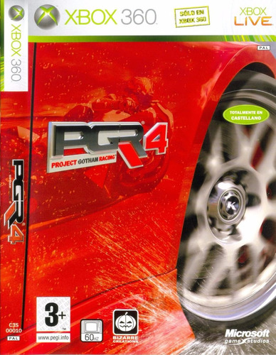 project gotham racing 4 xbox 360 acepto cambios gxa