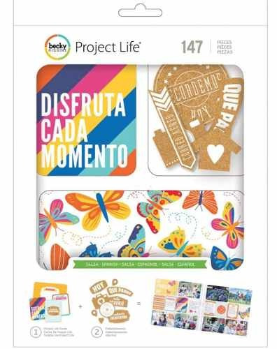 project life salsa value embellishment kit - spanish