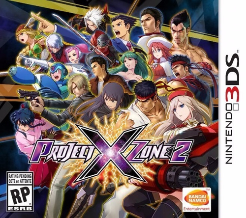 project x zone 2 3ds acepto cambios gxa