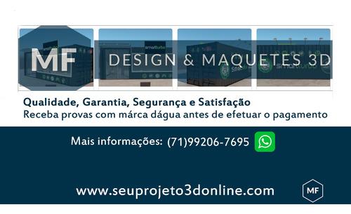 projeto 3d online - maquete 3d