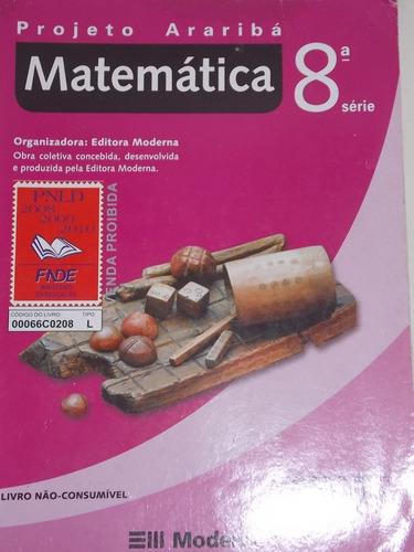 projeto araribá matemática 8º série