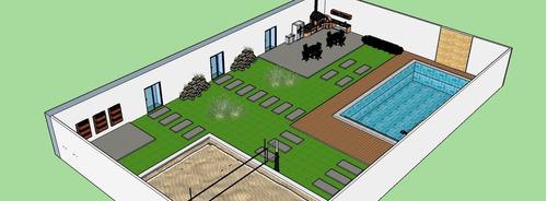 projeto área de lazer (área externa)