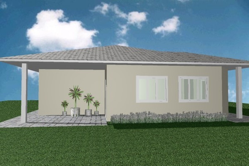 projeto arquitetônico casa residencial ct16