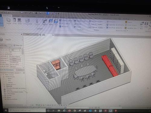 projeto arquitetônico completo 2d e 3d