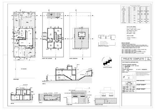 projeto arquitetônico prefeitura construção reforma r$5/m²