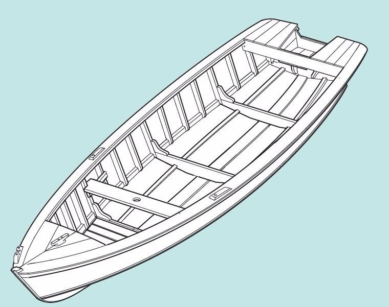Projeto Barcos E Canoas Em Madeira Simples E Completo R