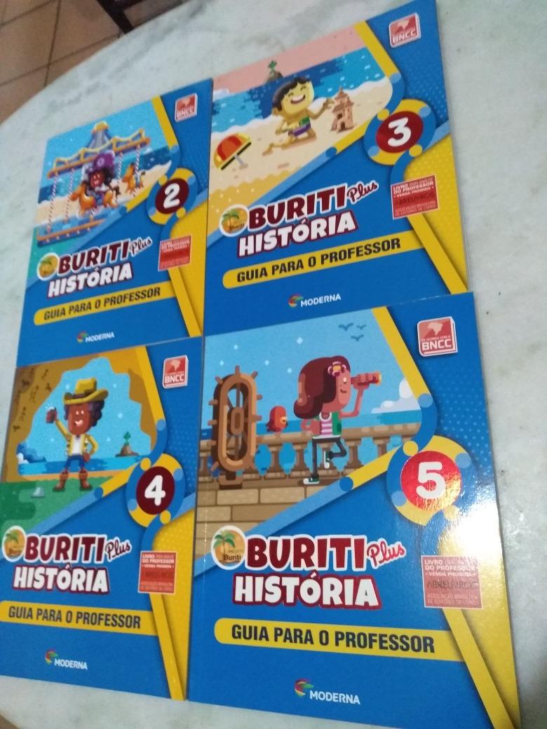 54ebbb506 Projeto Buriti Plus História 2 3 4 5 Guia Professor - R$ 549,73 em ...