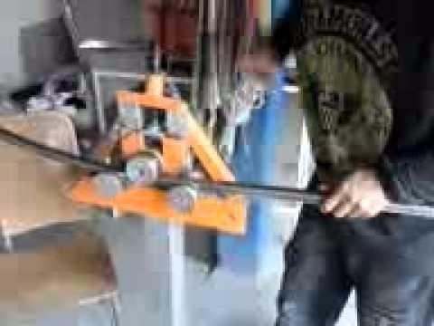 projeto calandra metalon tubos quadrados + brindes