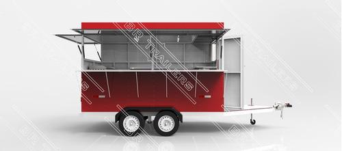 projeto carretinha reboque (food) trailer para lanches - pdf