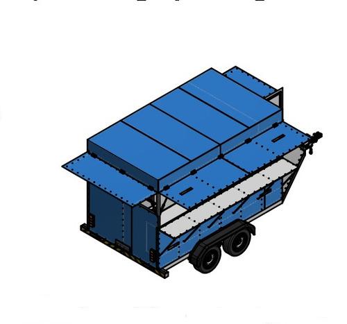 projeto carretinha reboque (food truck) trailer para lanches