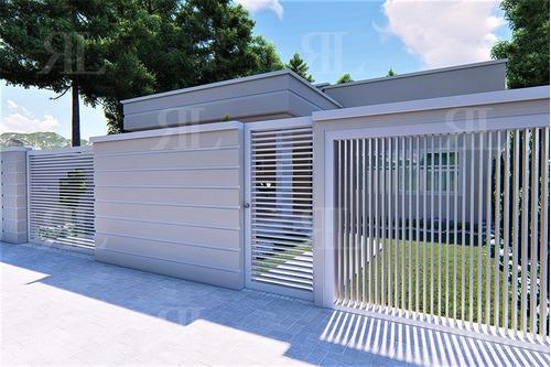 projeto casa térrea 2q - planta completa