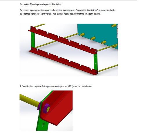 projeto churrasqueira giratória / rotativa ¿ passo a passo