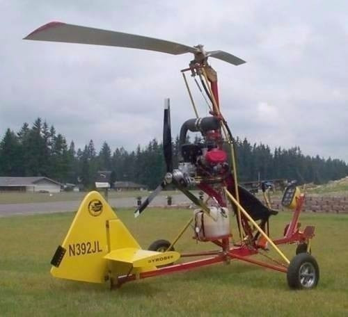 projeto completo helicopte girocóptero ultraleve trike rotax
