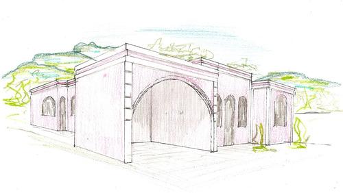projeto de arquitetura e administração de obras.
