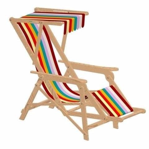 projeto de cadeira de praia