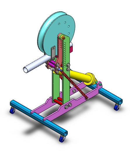 Projeto de curvadora de tubos hidr ulica pneum tica r for Curvadora de tubos segunda mano
