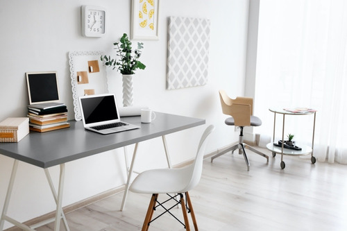 projeto de decoração online - home office
