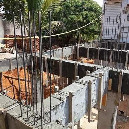 projeto de fundações e execução em casa situada em fortaleza