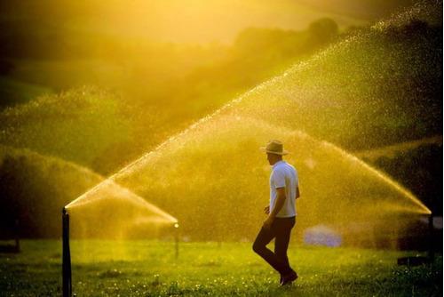 projeto de irrigação campo de futebol - consulte o valor