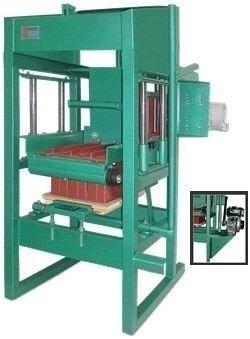 projeto de máquina para blocos e pisos de concreto cimento #
