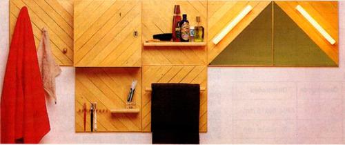 projeto de marcenaria - construção de painéis para banheiro