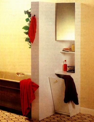 projeto de marcenaria - estante armário para banheiro