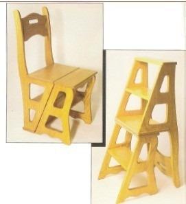Projeto De Moveis Cadeira Vira Escada Banco Que Vira