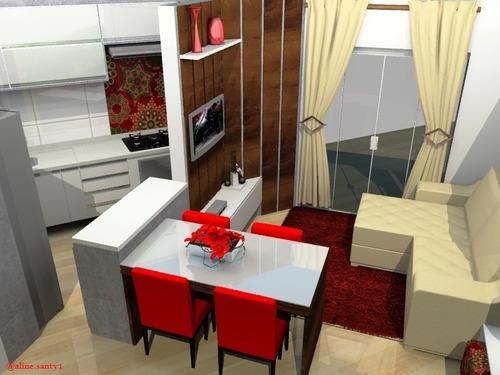 projeto de moveis planejados e decoração de interiores
