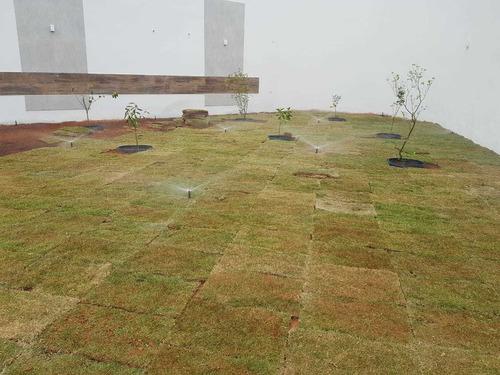 projeto e execução de irrigação automatizada
