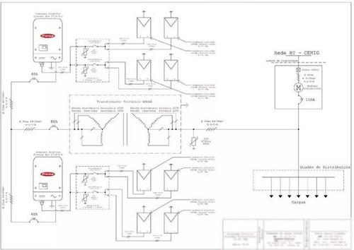 projeto e homologação de sistema solar fotovoltaico/ cemig