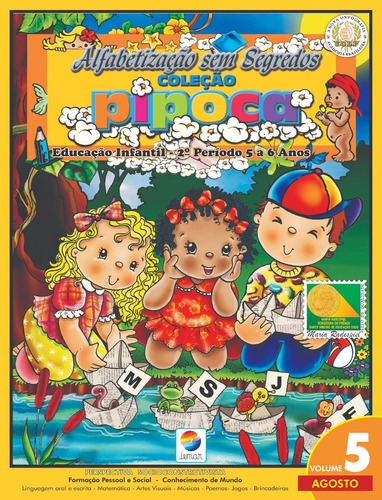 projeto educação infantil - 2º período - pipoca