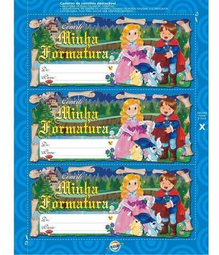 projeto educação infantil - kit formatura combo-30u