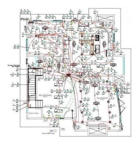 projeto elétrico residencial e predial