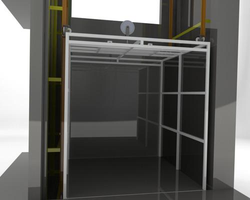 projeto elevador carga 1500kg