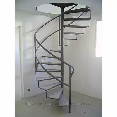 Projeto Escada Caracol Espiral Envio E Mail R 899 Em Mercado Livre