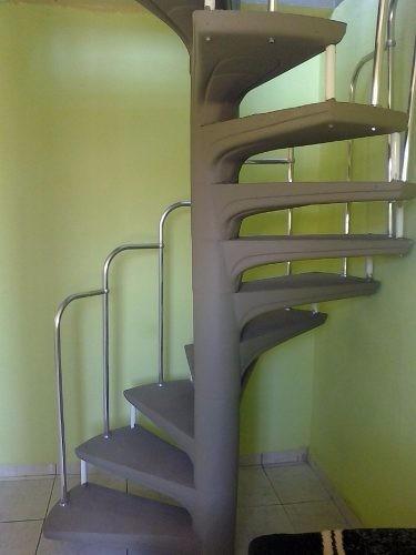 Projeto Escada Caracol Espiral Frete Grátis R 999 Em Mercado Livre