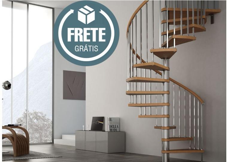 Projeto Escada Caracol Mais Completo Do Mercado Livre R 798 Em