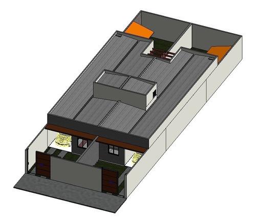 projeto executivo casa geminada