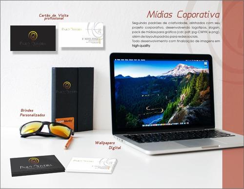 projeto inicial em comunicação visual para empresas
